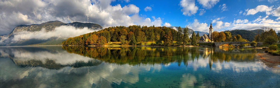 Wonderful Lake Bohinj ...